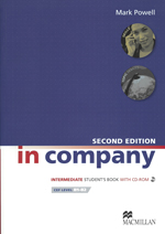 In company intermediate (2nd edition) student's book with cd-rom