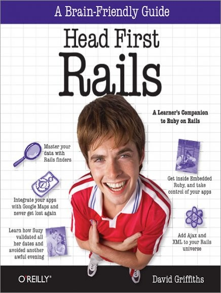A brian-friendly guide head first rails