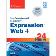 Sams teach yourself microsoft expression web 4 in 24 hours: updated for service pack 2 - html 5, css 3, jquery
