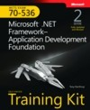 Microsoft.net framework-application development foundation mcts 70-536  training kit