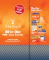 All-in-one pmp exam prep kit book/cd package
