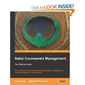 Sakai cle courseware management: the official guide