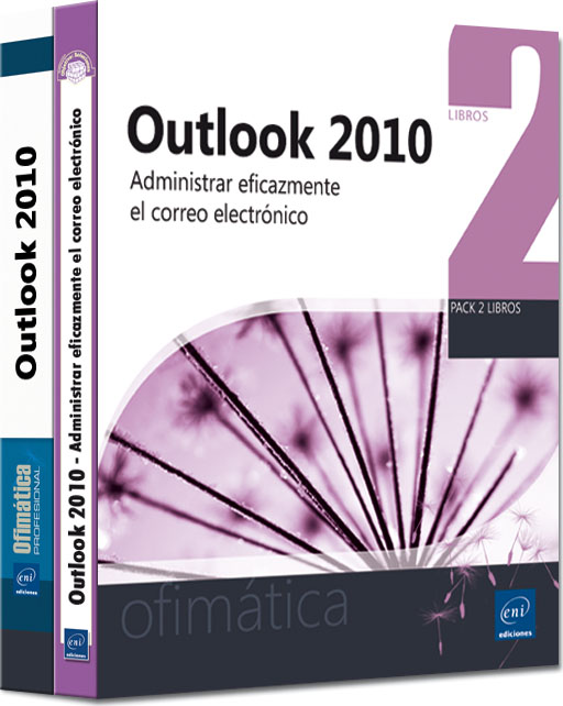 Outlook 2010 pack 2 libros.