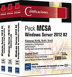 Mcsa windows server 2012 r2 - pack 3 librospreparación para los exámenes 70-410, 70-411 y 70-412